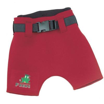 Slip Pantalon scurt copii din neopren, marime 68, Rosu foto