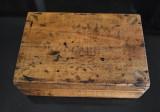 Cutie din lemn pentru Bomboane G. Capsa Bucarest Bucuresti - interbelica