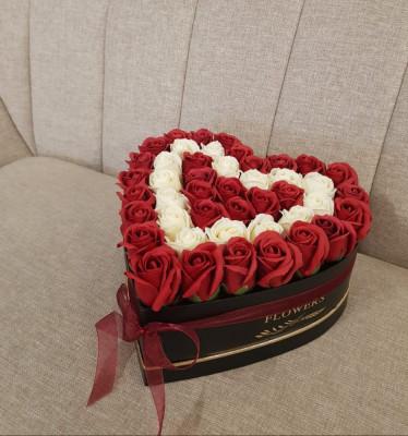 Aranjamente trandafiri săpun foto
