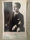 CP 1937, autograf Carlo Zecchi, prieten Mussolini, ptr R. Georgescu, legionari