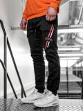 Pantaloni trening bărbați negru Bolf 80509