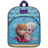 Ghiozdan 33 cm Frozen Elsa si Anna din Arendelle Forever Sisters, Fata, Rucsac, Disney