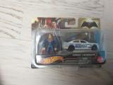 Hot wheels cu figurina Superman, 1:64