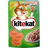 Cumpara ieftin Hrana umeda pentru pisici, Kitekat, cu Somon, 100 g