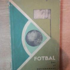 FOTBAL , JOC SI ANTRENAMENT , 1964