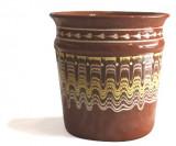 Galeata pentru sampanie ceramica,lut Devon