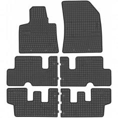 Set Covorase Auto Cauciuc Negro Citroen C4 Picasso 2 2013→ 7 Locuri 0648+06481
