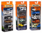 Jucarie Matchbox Vehicles Set Of 5 (Aleatoriu)