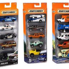 Jucarie Matchbox Vehicles Set Of 5 (Aleatoriu)