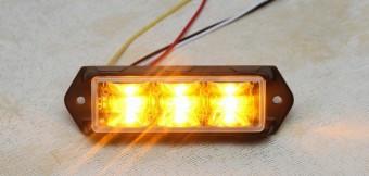 Stroboscoape LED DuaLColor LED 3W Set 2 Bucati Megatron 12v-24v foto