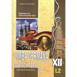 Limba germana L2. Manual pentru clasa a XII-a, autor Magdalena Leca
