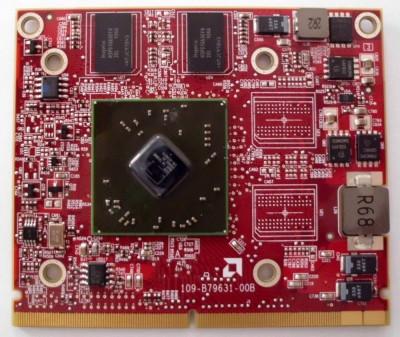 Placa video laptop defecta pentru piese ATI HD 4500 4570 M92 VG.M920H 512Mb MXM A 216-0728014 VGA foto