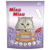 Asternut natural din tofu, Miau Miau, Lavanda, 6l