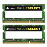 Memorie notebook Corsair ValueSelect, 8GB, DDR3, 1600MHz, CL11, 1.35v, Dual Channel Kit