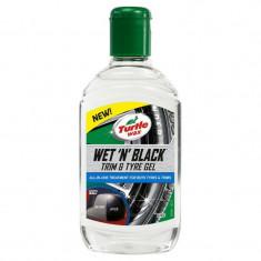 Turtle Wax Gel Luciu Anvelope Wet'n'Black 300ML FG53179