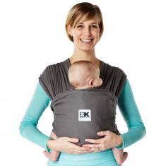Sistem Purtare Baby K'tan Baby Carrier Breeze - Charcoal - Marimea L