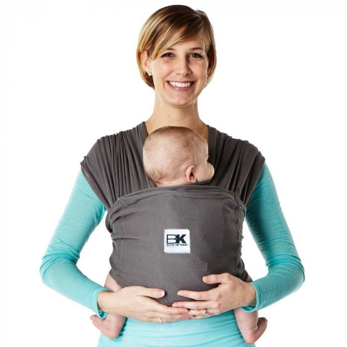 Sistem Purtare Baby Ktan Baby Carrier Breeze - Charcoal - Marimea L