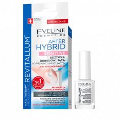 Tratament unghii Eveline Cosmetics After Hibrid Sensitive 12 ml
