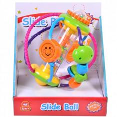 Jucarie interactiva pentru bebelusi cu accesorii, 13 cm, multicolor