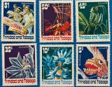 TRINIDAD-TOBAGO-''carnaval''-serie 6 val -MNH, Stampilat