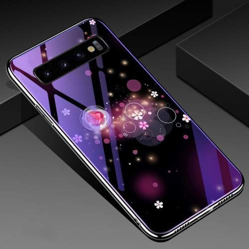 Husa Samsung Galaxy S10 Plus Cu Spate Din Sticla Colorata
