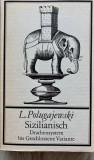 Lew Polugajewski, Sizilianish - carte sah lb germana