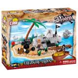 Cumpara ieftin Set de construit Cobi, Pirates, Treasure Island (160 pcs)