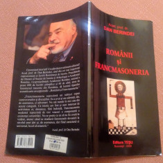 Romanii si Francmasoneria - Dan Berindei, Alta editura, 2009