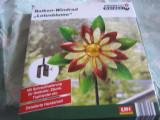 Cumpara ieftin Decoratiune metal pentru balcon Powertec floare lotus
