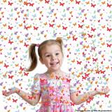 Tun confetti fluturasi pentru petreceri, 60 cm