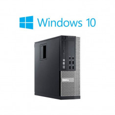 Calculatoare Refurbished Dell Optiplex 790 SFF, i3-2100, Win 10 Home