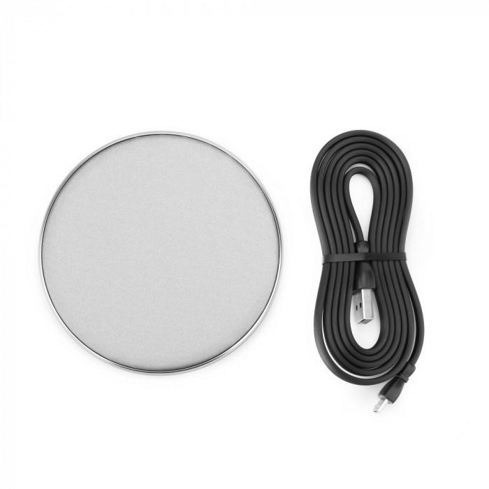 Incarcator Universal Wireless (Argintiu) REMAX RP-W10