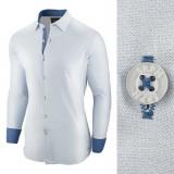 Camasa pentru barbati bleu regular fit Business Class Ultra