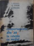 COMPORTAMENTUL ABERANT IN RELATIILE CU MEDIUL-P. BRANZEI, GH. SCRIPCARU, T. PIROZYNSKI