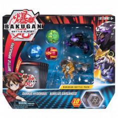 Set 5 Bakugan Battle Planet, Darkus Hydorous, Aurelus Gargarnoid, 20103993