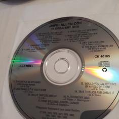 DAVID ALLEN COE - 17 GREATEST HITS  -   CD
