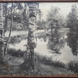Tablou  vechi alb-negru