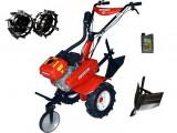 Motocultor Rotakt ROG80-T3, 7 CP, 3 viteze, carcasa transmisie fonta + Rarita + Roti metalice + Cadou ulei