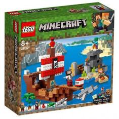 LEGO Minecraft - Aventura corabiei de pirati 21152