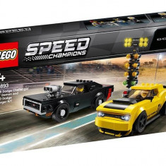 LEGO Speed Champions - 2018 Dodge Challenger SRT Demon si 1970 Dodge Charger R/T 75893