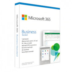 Licenta Cloud Retail Microsoft 365 Business Standard Engleza Subscriptie 1 An 1 Utilizator
