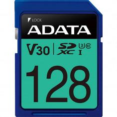 Card ADATA Premier Pro SDXC 128GB UHS-I U3 V30 80 Mbs