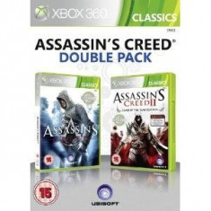 Assassin's Creed 1 and 2 Double Pack XB360