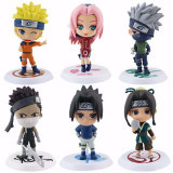 Cumpara ieftin Set 6 figurine Naruto Sakura Kakashi Sasuke Uzumaki