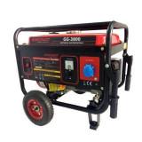 Generator benzina Worcraft GG-3800, WT170F, putere max 3.1 KW, AVR, roti transport Mania Tools
