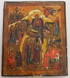 Nasterea lui Isus icoana veche sec 18-19