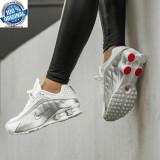 Adidasi  Originali 100% Adidasi Nike Shox R4 GS BQ4000-100 nr  36.5