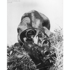 HUSA OVERSMOCK SNIPER CAMUFLAJ WATER TAN SUMPFTARN M44 WEHRMACHT,WW2,AIRSOFT
