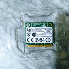 Placa de retea WiFi Broadcom BCM94312HMG ( 802.11a/b/g ) Mini PCI Express