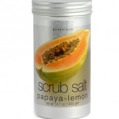 Sare Exfolianta de Corp Greenland cu Papaya si Lamaie 400 gr